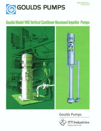 Vertical Cantilever Pump VHS