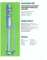 Vertical Cantilever Pump VHS - 2