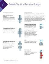 VIC / VIS / VIT Goulds Vertical Turbine Pumps - 6