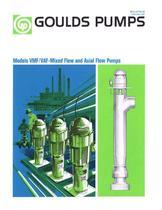 VMF / VAF-Mixed Flow and Axial Flow Pumps - 1
