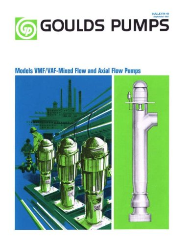 VMF / VAF-Mixed Flow and Axial Flow Pumps