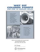 Wet Pit Column Pumps - 1
