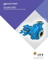 XHD Extra Heavy Duty Lined Slurry Pumps - 1