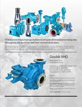 XHD Extra Heavy Duty Lined Slurry Pumps - 3