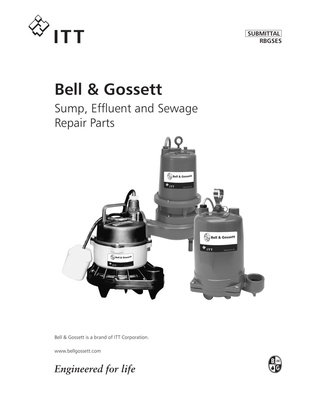 Sump Effluent And Sewage Repair Parts Bell Gossett Domestic Amp Wiring Diagram 1 44 Pages