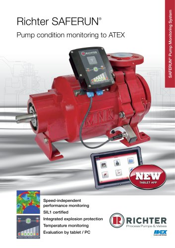 SAFERUN® Pump condition monitoring to ATEX