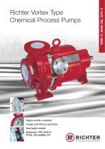 Vortex Type Chemical Process Pumps