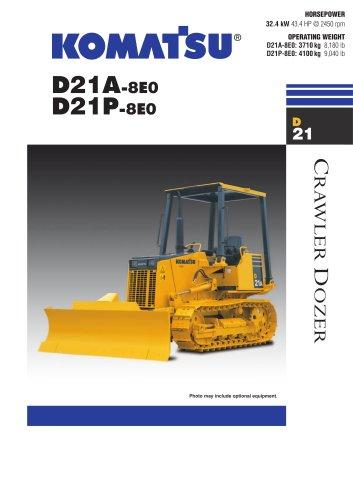 D21A -8E0 / D21P -8E0 - Komatsu Construction and Mining