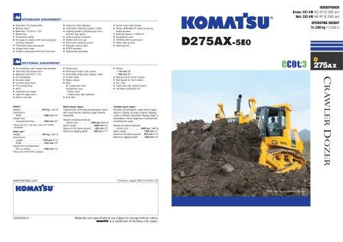 D275AX -5E0