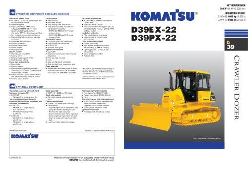D39EX-22 / D39PX-22