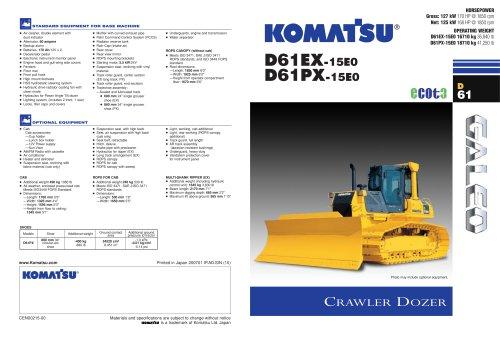 D61EX-15E0