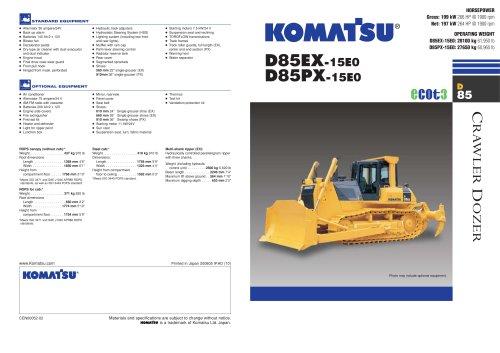 D85EX-15E0
