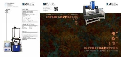 4″ / 6″ / 12″ Interferometer