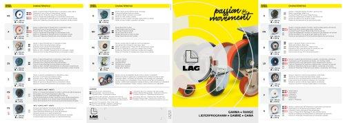 Leaflet Product Range