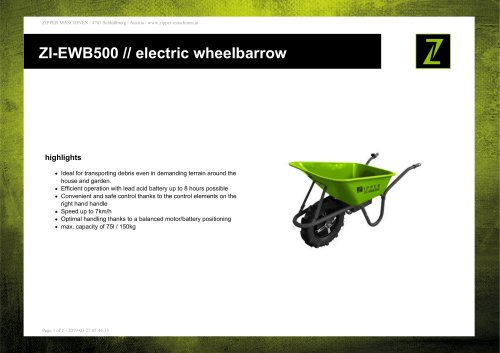 ZI-EWB500