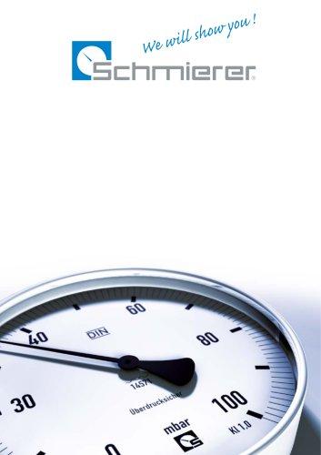Schmierer GmbH Brochure - Overview