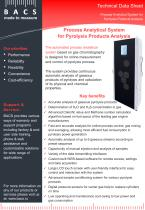 Process Analytical System for Pyrolysis Products Analysis