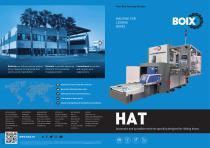 Boix HAT machine for lidding boxes