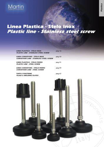 Plastic Line ? Stainless steel screw