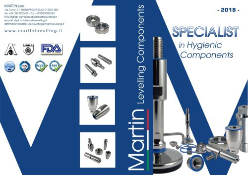 SPECIALIST in Hygienic Components