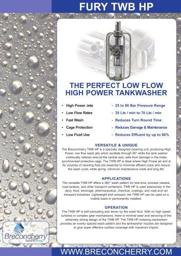 TWB High Pressure (HP) Technical Data Sheet