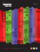 Brookfield AMETEK 2016 Product Catalog
