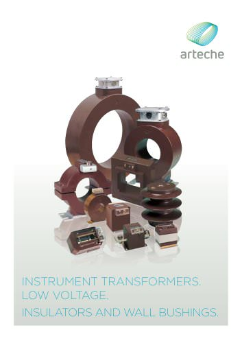 Low voltage instrument transformers. Insulators and wall bushings