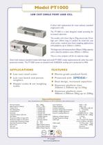 Model PT1000 LOW COST SINGLE POINT LOAD CELL - 1