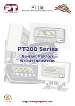 PT200 Series GENERAL PURPOSE WEIGHT INDICATORS - 1