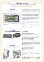 PT200 Series GENERAL PURPOSE WEIGHT INDICATORS - 2