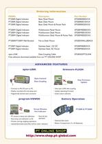PT200 Series GENERAL PURPOSE WEIGHT INDICATORS - 3