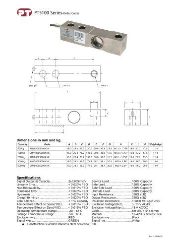 PT5100 Shearbeam S/S