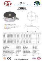 PT7000 Low Profile Mini Disk-Stainless - 1
