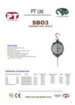 SB03 Spring Balance Brochure - 1