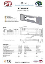 Single Point Load Cells-Aluminium, Low Cost 200x200mm platform - 1