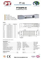 Single Point Load Cells-Aluminium, Low Cost, 250x350mm platform - 1