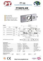 Single Point Load Cells-Welded Stainless, Affordable, 300x300mm platform - 1