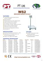 WS2 Weighing Scale Brochure - 1