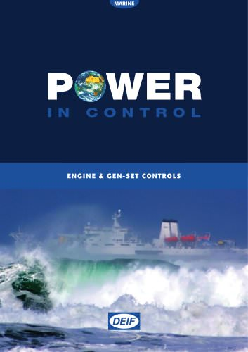 Engine & Gen-Set Controls - MARINE