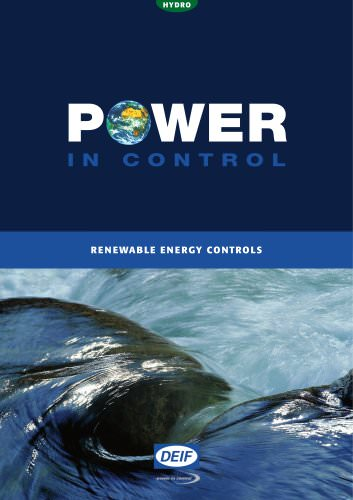 Renewable Energy  Controls - HYDRO
