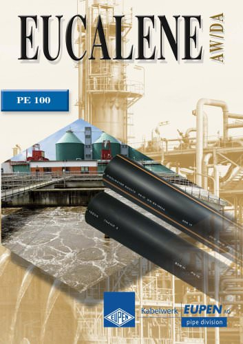 Piping systems in PE100 for wastewater and industry