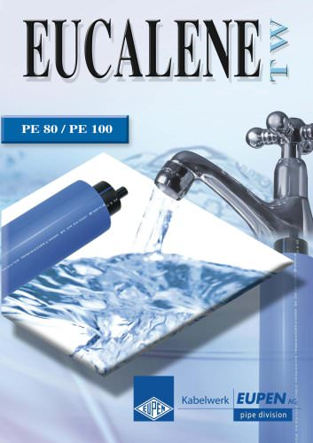 Piping systems in PE80/PE100 for water supply