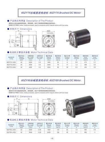 DYD MOTOR_Brushed DC Motor_60ZY75