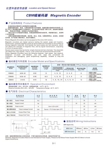 DYD MOTOR_Magnetic Encoder
