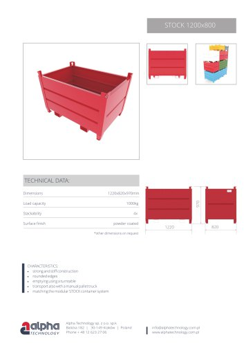 Containers Stock 1200x800