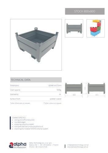 Containers Stock 800x800