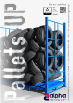 Pallets for tires UP