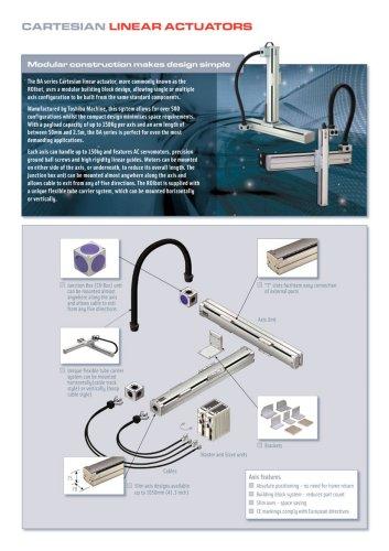 Cartesian linear actuators