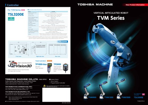 TVM Series - 6-axis Robots
