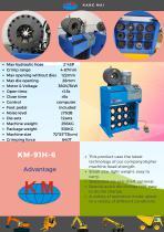 KM-91H-6D Hose Crimping Machine
